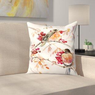 Suren Nersisyan American Robin Throw Pillow