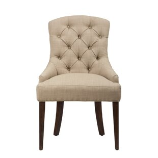 Eliana Upholstered Dining Chair by Alcott..
