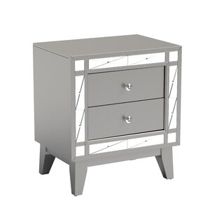 Alessia 2 Drawer Nightstand by Willa Arlo Interiors