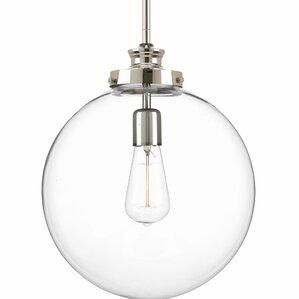 Cayden Metal 1 Light Globe Pendant