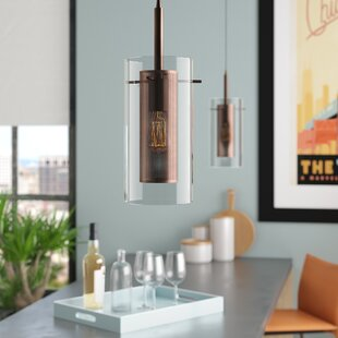 Fennia 1-Light Cylinder Pendant by Orren Ellis