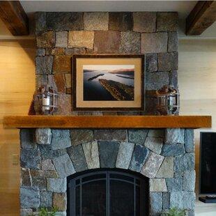Reclaimed Oak Fireplace Shelf Mantel