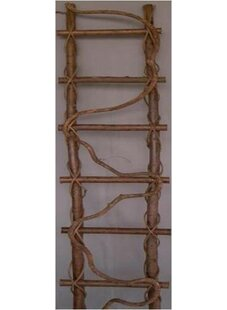 Mr. MJs Twig Ladder Wood Obelisk Trellis