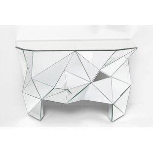 Prisma Mirrored Console Table By KARE Design