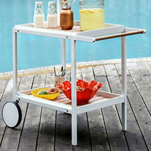 Ranson Serving Bar Cart by Latitude Run