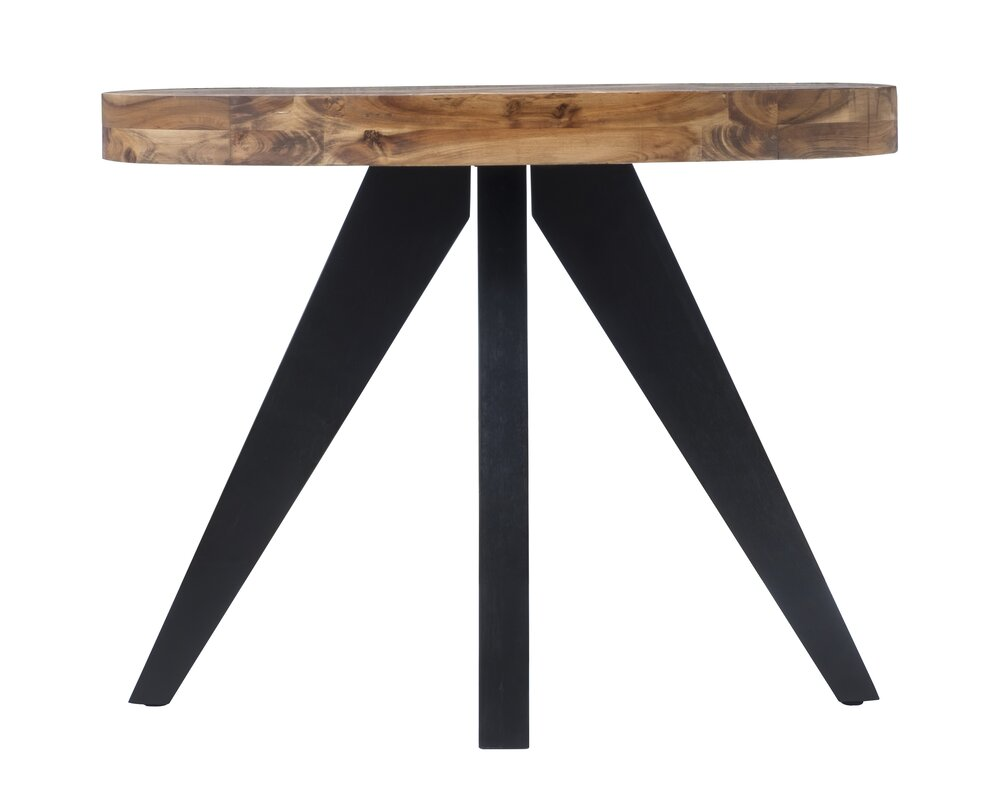 Union rustic serita oval console table reviews wayfair serita oval console table geotapseo Image collections