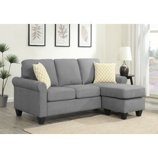 Charlton Home Knutsen Reversible Sectional