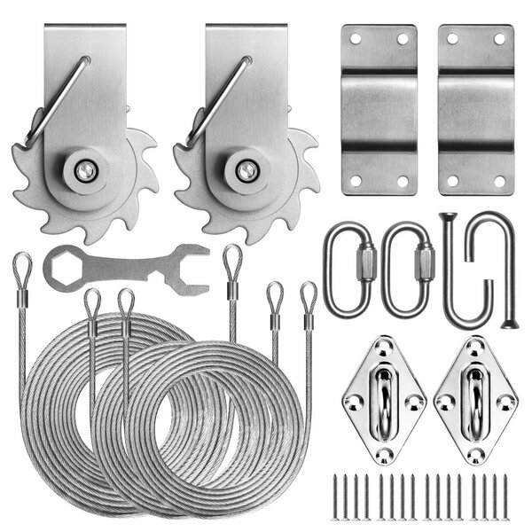 Colourtree Tensioning Winch 4 Rectangle Installation Kit Reviews Wayfair