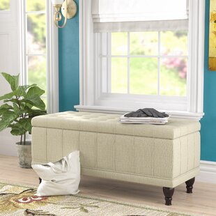 Darby Home Co Gilberts Fabric Storage Bench