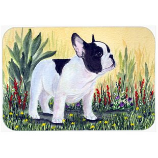 French Bulldog Glass Cutting Board