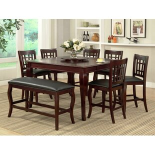 Burgos 7 Piece Pub Table Set by Milton Green Star
