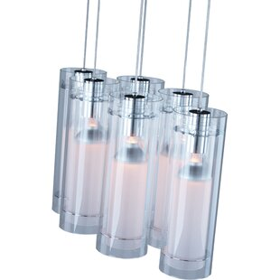 Nyx 6-Light Cluster Pendant by Orren Ellis