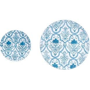 Metal Wall Decor Plates Set Of 2