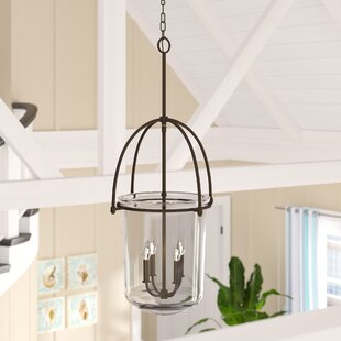 Beachcrest Home Bolton 4-Light Urn Pendant