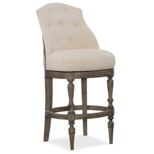 Hooker Furniture Kacey Deconstructed Swivel Bar Stool