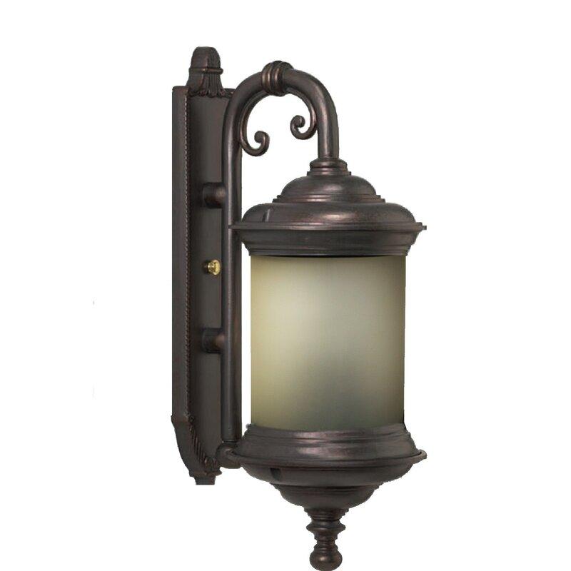 Alcott Hill Phillipstown 4 Bulb Outdoor Wall Lantern Wayfair