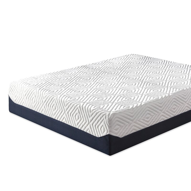 Zinus 14inch Breathable Cooling Memory Foam Mattress, Full ...