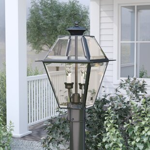 Clearance Olesen Outdoor 2-Light Lantern Head By Three Posts