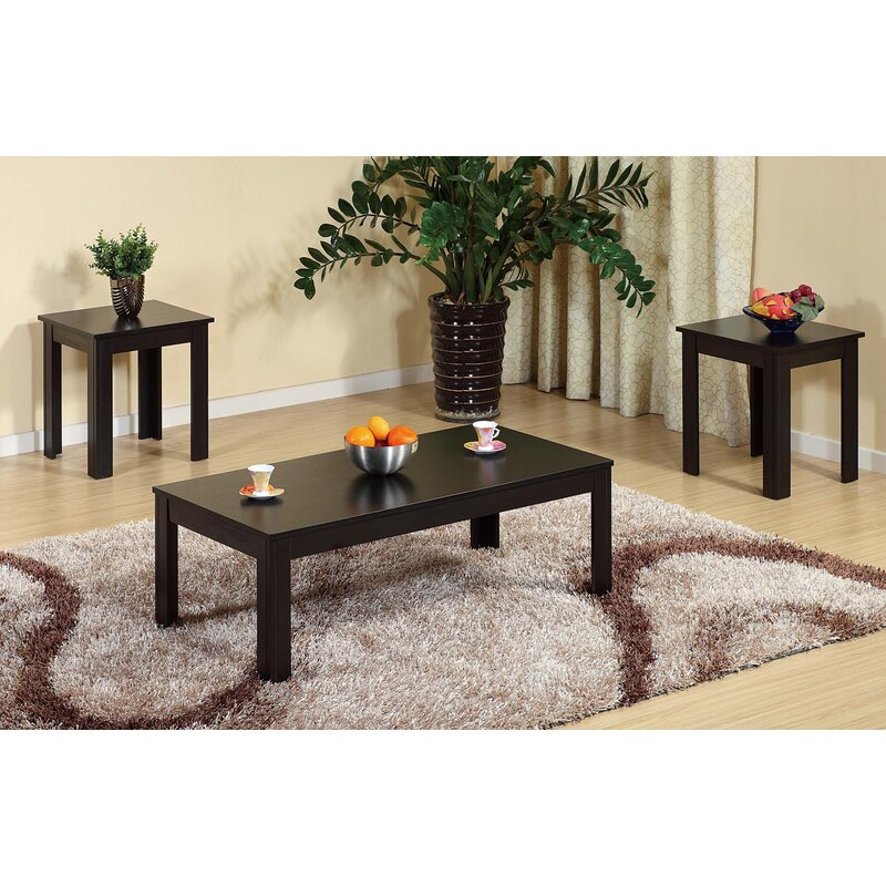 Ebern Designs Newdale Creative 3 Piece Coffee Table Set Wayfair