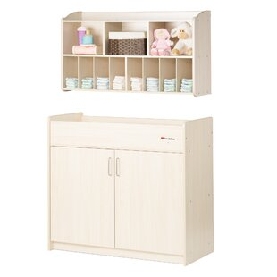 SafetyCraft 2 Piece Changing Table Set ByFoundations