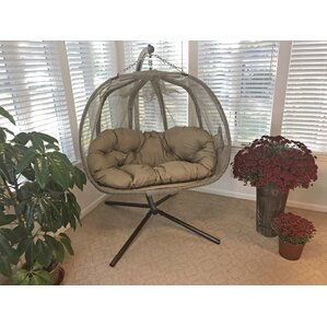 Pumpkin Swing Chair With Stand