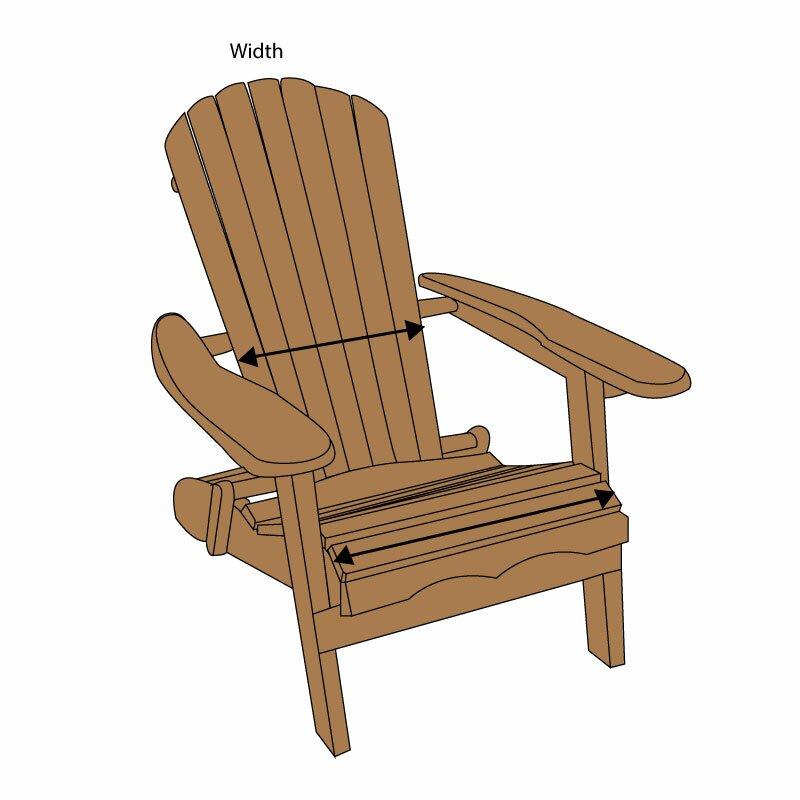 Delicieux Knife Edge Outdoor Sunbrella Adirondack Chair Cushion