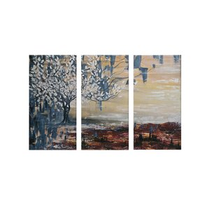 Multi Piece Canvas Wall Art 3 piece wall art you'll love | wayfair