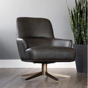 Club Swivel Lounge Chair by Sunpan Modern
