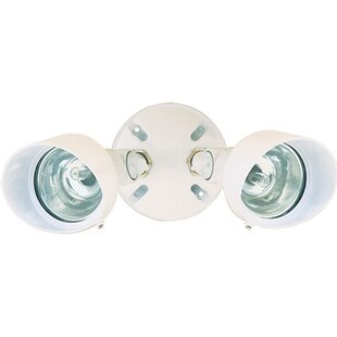 Heath-Zenith 100-Watt LED Outdoor Security Flood Light