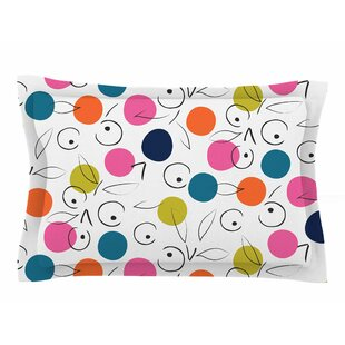 Neelam Kaur 'Colorful Polka Berries' Digital Sham