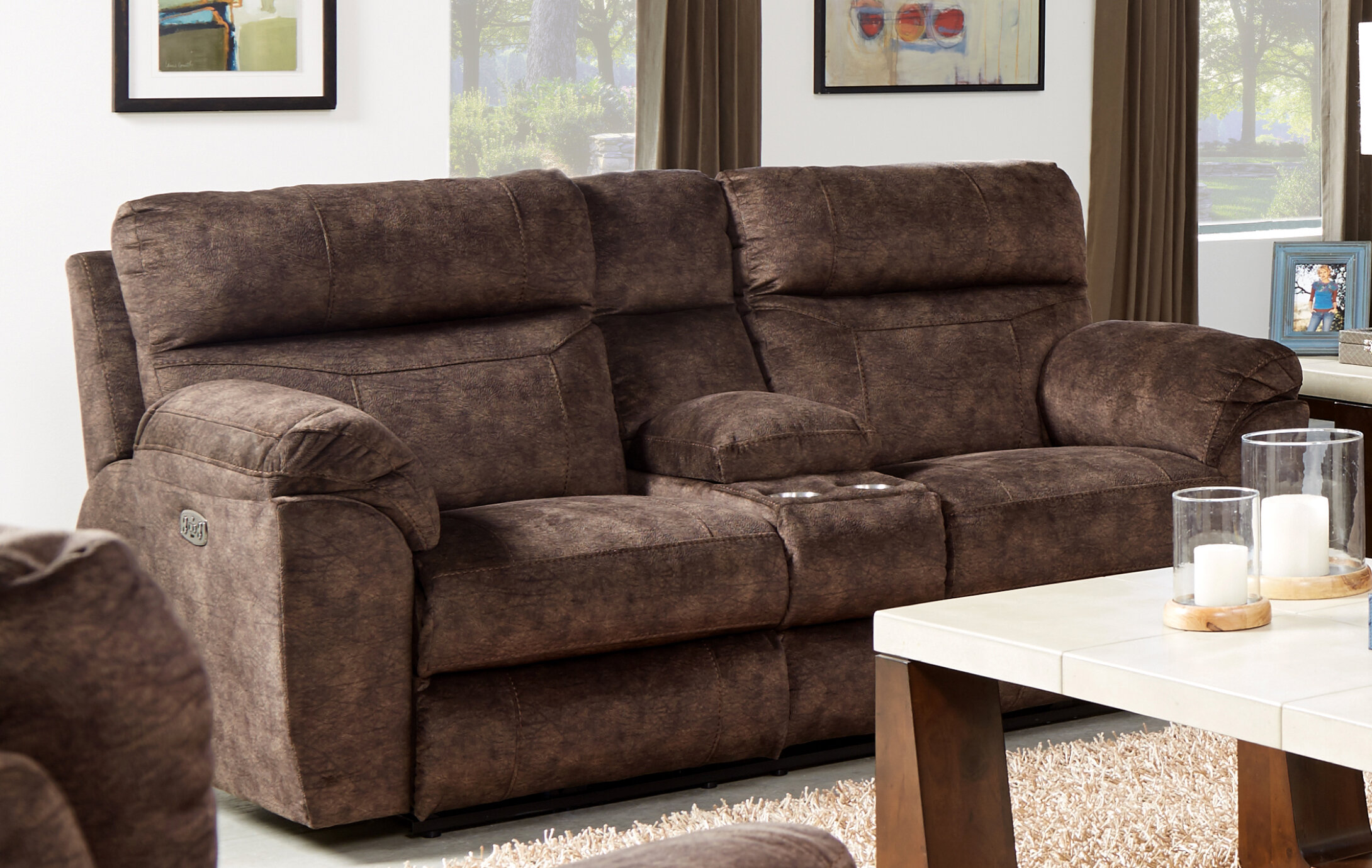 Enjoyable Sedona Reclining Loveseat Squirreltailoven Fun Painted Chair Ideas Images Squirreltailovenorg