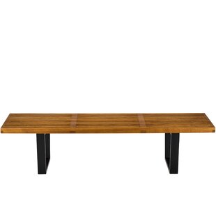 Bullington Wood Bench by Union Rustic