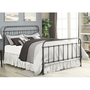 Joshua Metallic Platform Bed