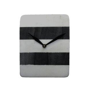 Almazan Marble Table Wall Clock