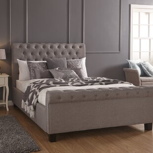 Review Arley Upholstered Ottoman Bed