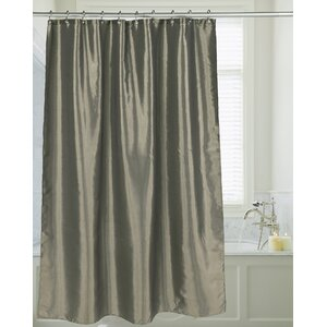 Highgate Faux Silk Shower Curtain