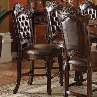 Welles Counter Height Upholstered Dining Chair (Set of 2) by Astoria Grand SKU:CE949892 Order