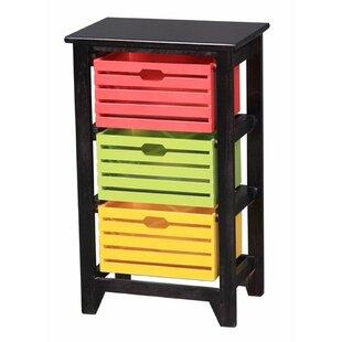 Affordable Groth 3 Drawer Storage Chest ByEbern Designs