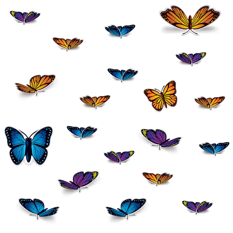 The Beistle Company 20 Piece Butterfly Standup Set Wayfair