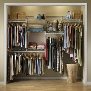 Adjustable Clothes Storage System 152cm   244cm Wide
