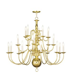 Three Posts Allensby 20-Light Chandelier