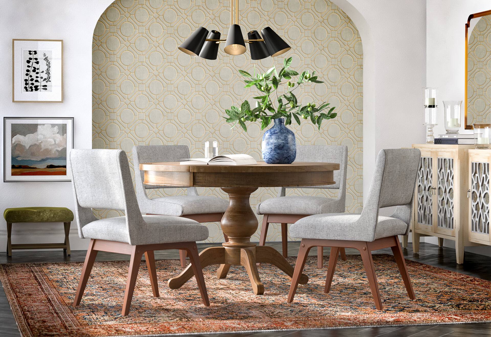 Transitional Dining Room Design Ideas Joss Main