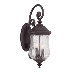 Berwyck 3-Light Outdoor Wall Lantern