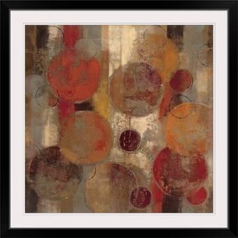 Trademark Art Quarter Rounds 3 0 By Michelle Calkins Framed Painting Print Wayfair