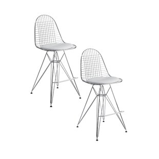 Shuttle Bar Stool (Set of 2) Orren Ellis