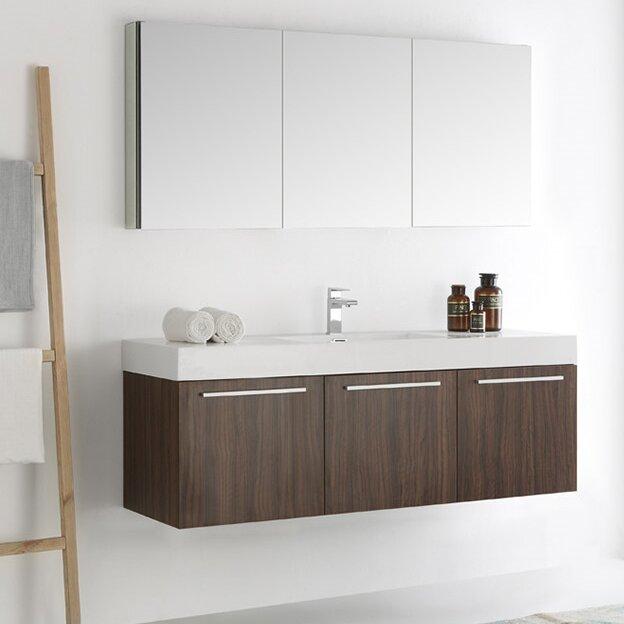 Wall Mounted Modern Bathroom Vanity