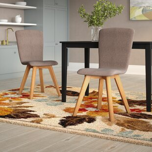 Aryan Upholstered Dining Chair (Set Of 2) By Hykkon
