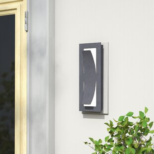 Latitude Run Carlson 1-Light Outdoor Sconce