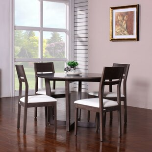 Arista 5 Piece Dining Set Latitude Run
