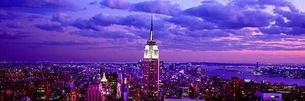 Ebern Designs Panoramic Aerial View Of Midtown Manhattan From Rockefeller Center New York City Photographic Print On Canvas Wayfair
